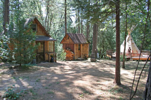 Photograph gallery our sweet retreat for Yuba river retreat cabins